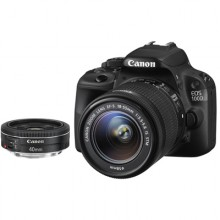 Canon EOS 100D + 18-55 IS STM + 40 STM